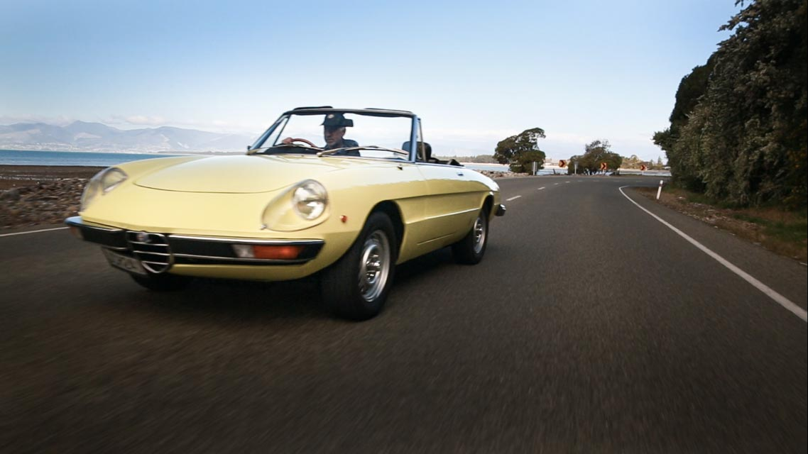 1975 Alfa Spider For Hire Nelson