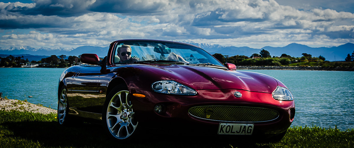 RentAClassic Jaguar XK8 Convertible Hire At Nelson Waterfront